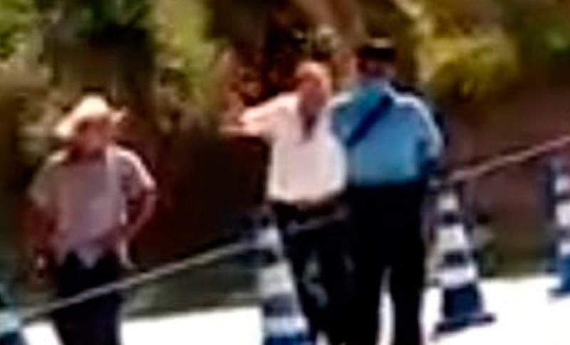 Capturan a hombre que amenazó de muerte a policía en retén de Intibucá
