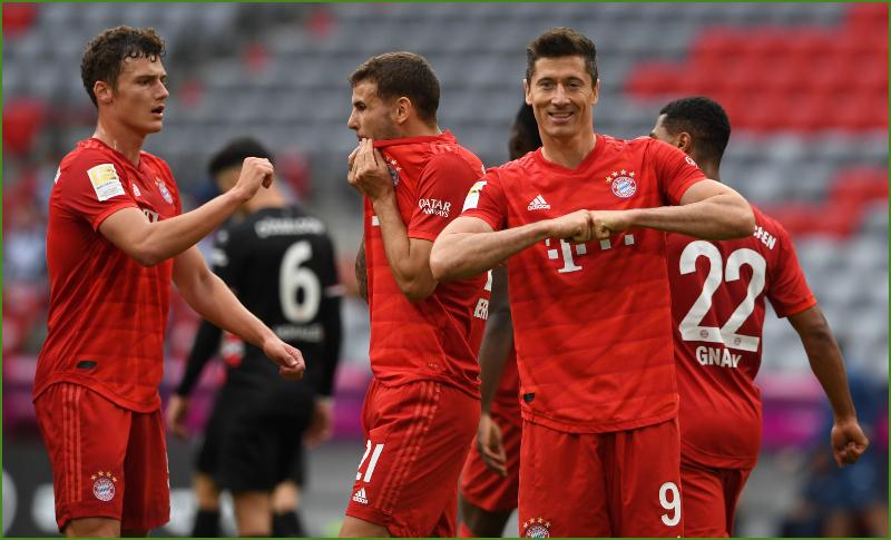 Bayern Múnich golea 5-0 al Fortuna y se acerca al título - Diario ...