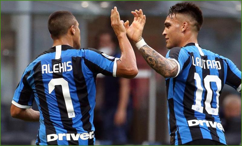 Alexis Sánchez recupera gol y sensaciones en el Inter