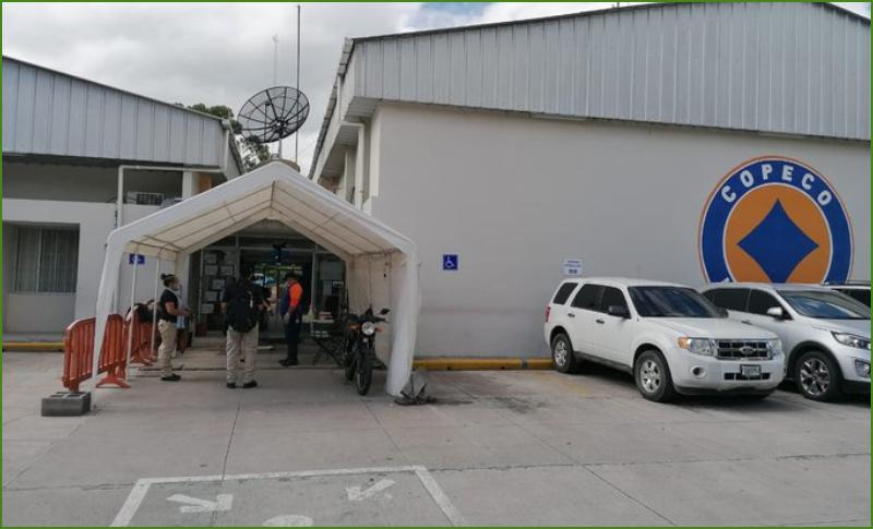 Decomisan documentos de Copeco para investigación por hospital móvil de Villanueva
