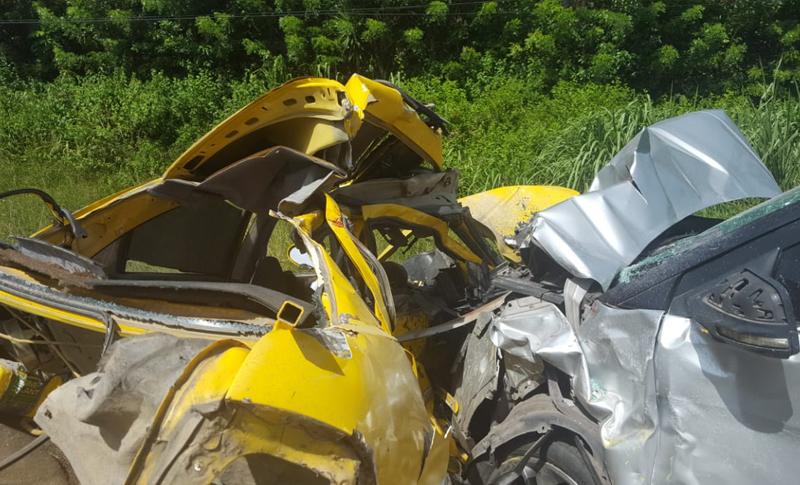 Trágico accidente! Cinco miembros de una familia mueren tras choque en  carretera que conduce a Tela – EL PAIS