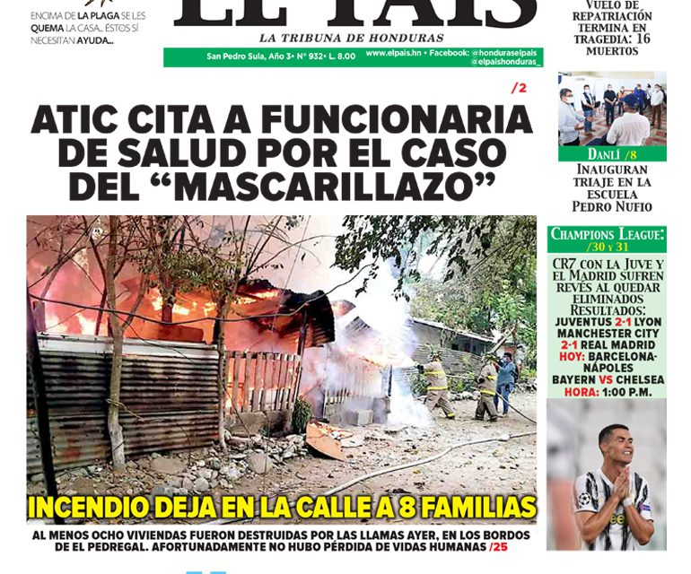 """ATIC CITA A FUNCIONARIA DE SALUD POR EL CASO DEL """"MASCARILLAZO"""