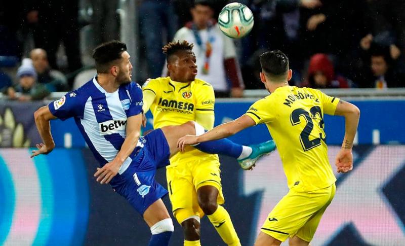 El Villarreal goleó al Alavés en su última visita tras tres derrotas