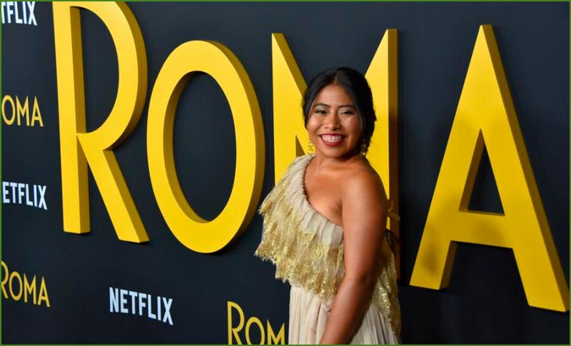 """Yalitza Aparicio, de """"Roma"""" a youtuber para reivindicar su esencia y raíces"""