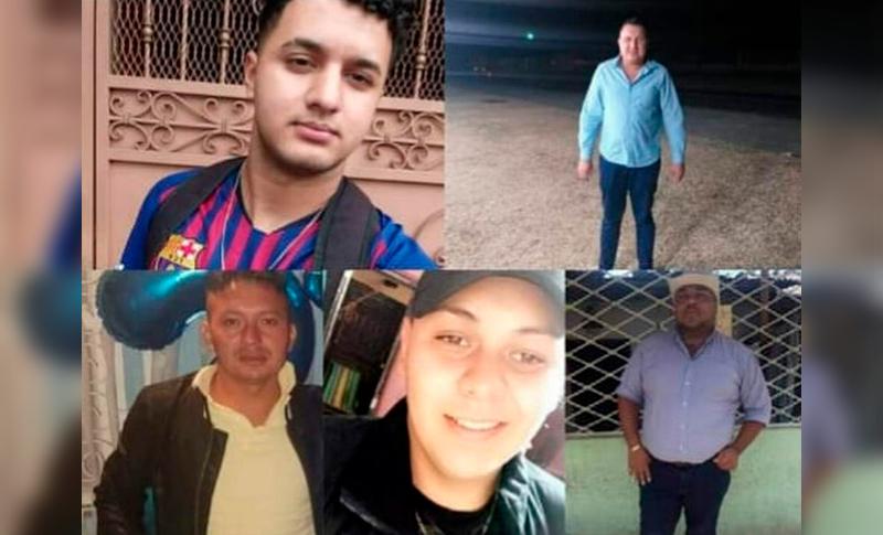 Familiares eran tres de las cinco víctimas de la masacre en minisúper