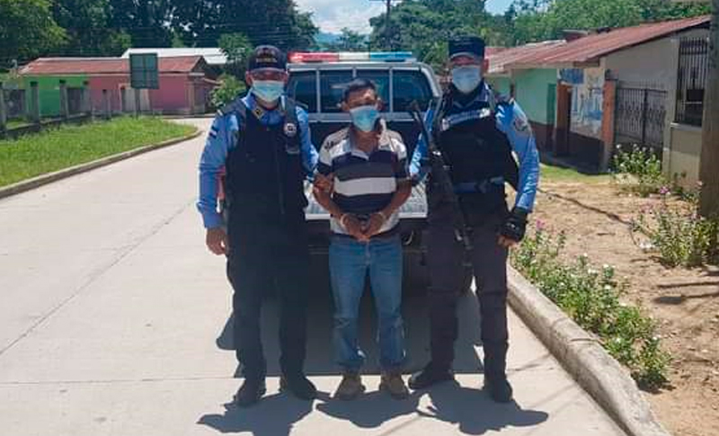 Capturan supuesto violador de menor de 11 años en Yoro
